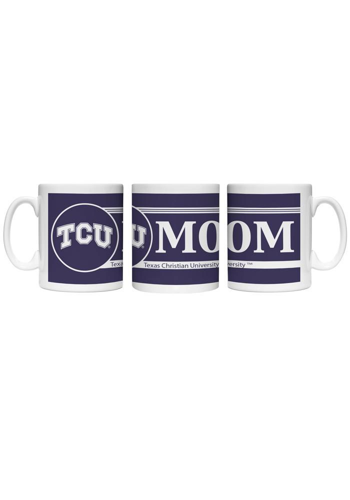 TCU Horned Frogs Mom Ceramic Mug - Image 1