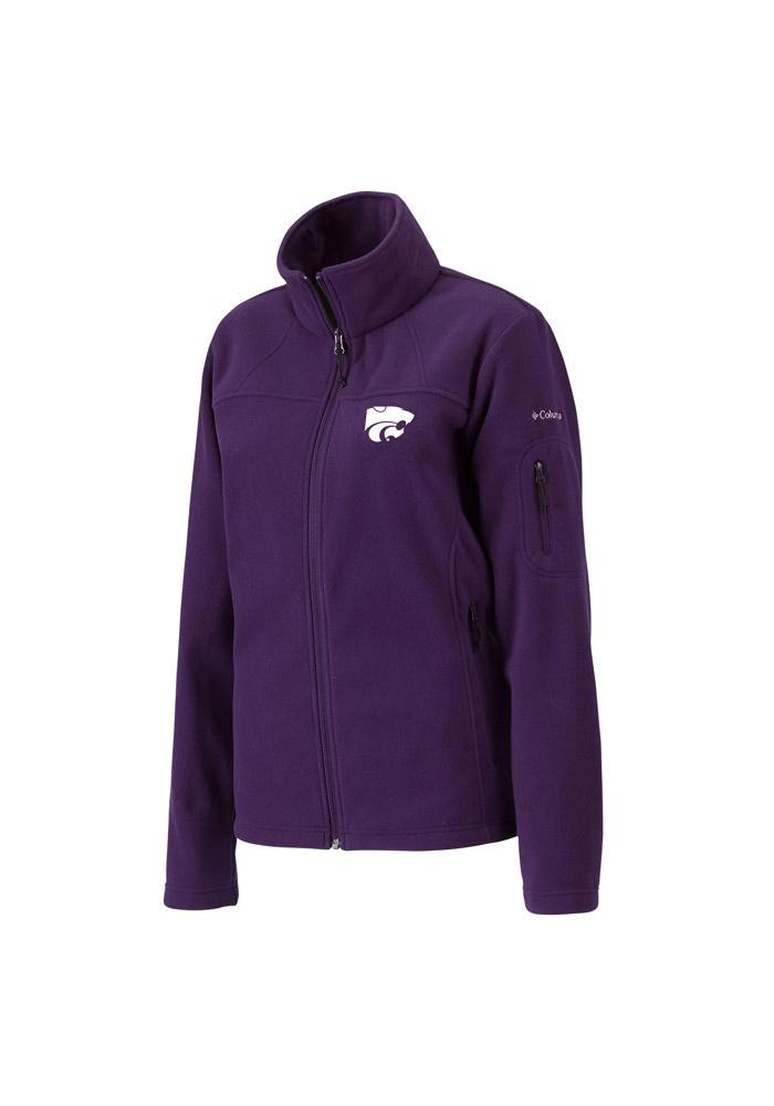 Columbia K-State Wildcats Womens Purple Give & Go Light Weight Jacket - Image 1
