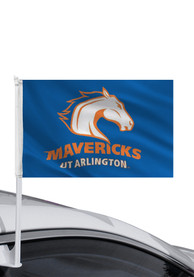 UTA Mavericks 11x16 Blue Car Flag - Blue