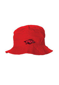 Arkansas Razorbacks Baby Bucket Sun Hat - Crimson