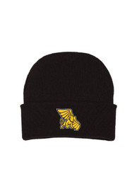Missouri Western Griffons Solid Newborn Knit Hat - Black