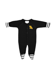 Missouri Western Griffons Baby Stripe Black Stripe One Piece Pajamas