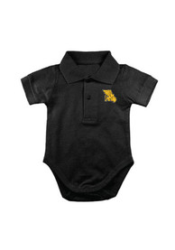 Missouri Western Griffons Baby Black Golf Polo Polo One Piece