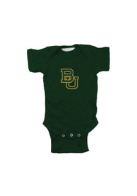 Baylor Bears Baby Embroidered Logo One Piece - Green