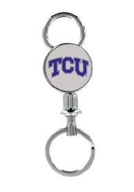 TCU Horned Frogs Valet Keychain