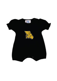 Missouri Western Griffons Baby Black Girls One Piece