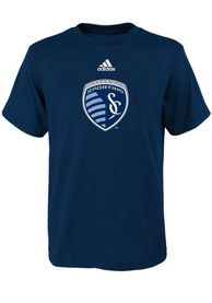 Sporting Kansas City Infant Primary Logo T-Shirt - Navy Blue