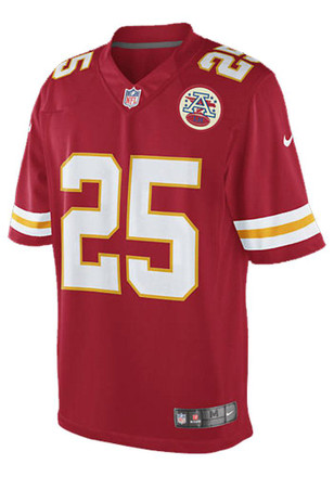 Jamaal Charles Nike KC Chiefs Mens Red Limited Jersey