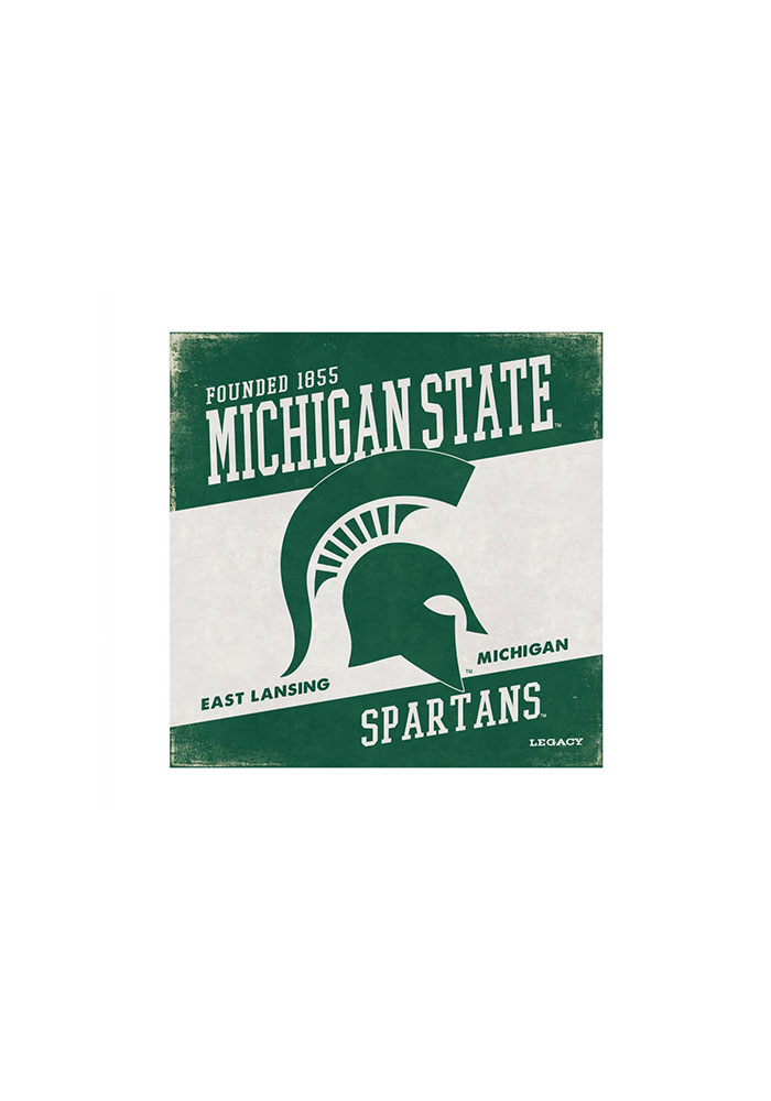 Michigan State Spartans Spartan Wall Art - Image 1