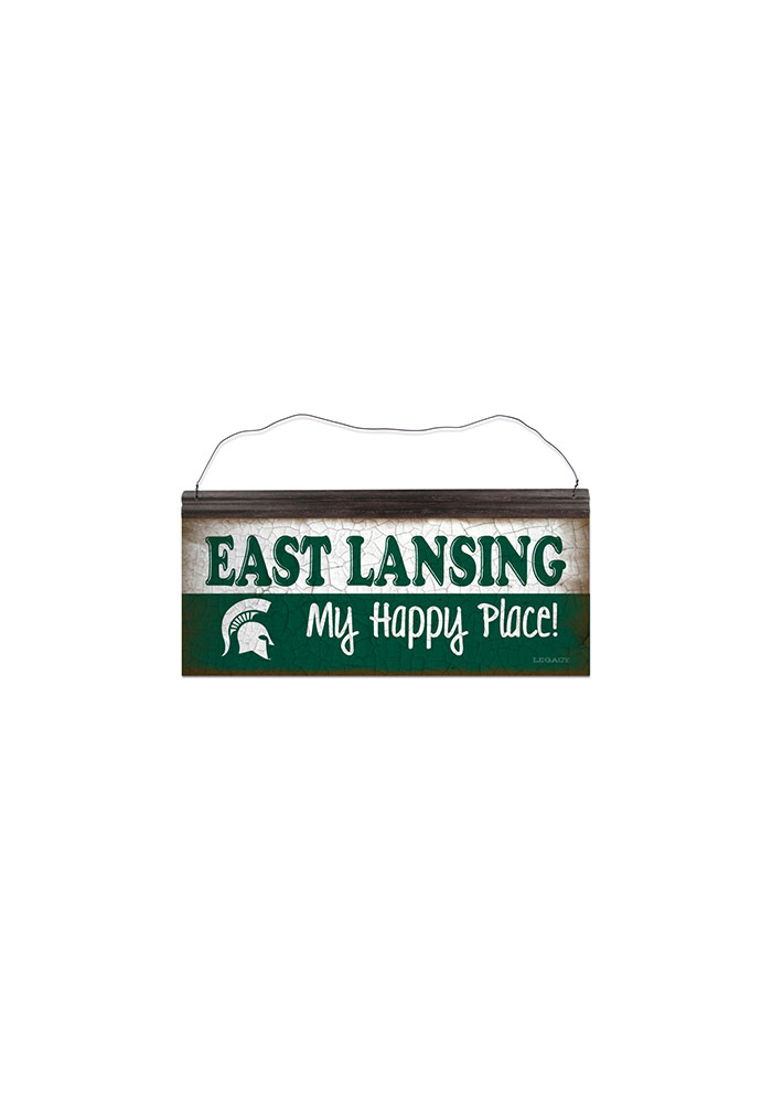 Michigan State Spartans Columbia is My Happy Place Sign - Image 1