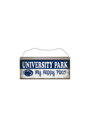 Penn State Nittany Lions Happy Place Sign