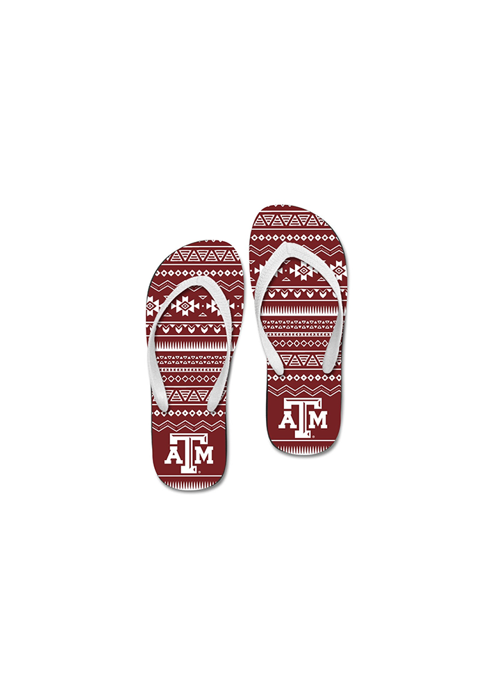 Texas A&M Tribal Fabric Flip Flop - Image 2