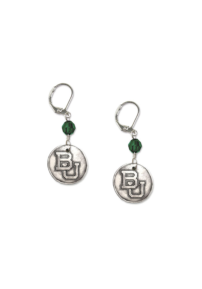 Baylor White Copper Earrings - Image 1