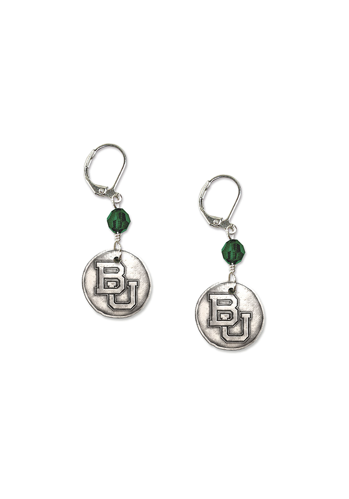 Baylor White Copper Earrings - Image 2