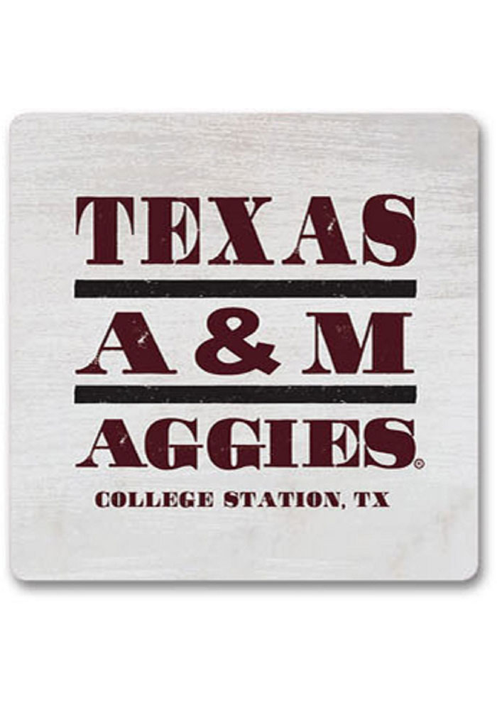 Texas A&M Aggies Club Wood Magnet