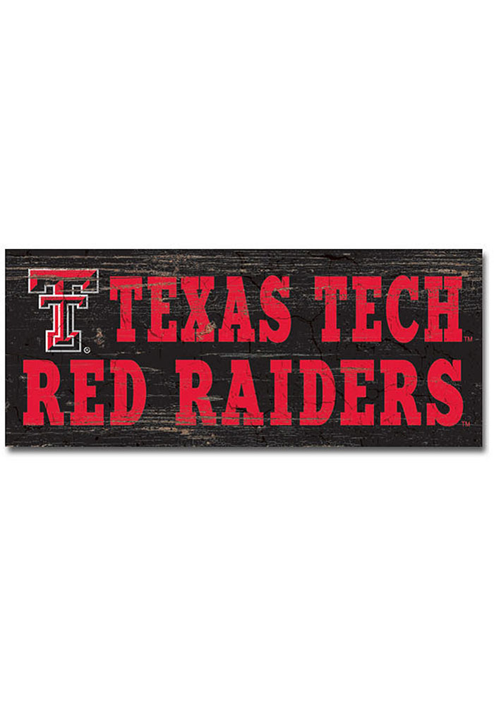 Texas Tech Red Raiders Mini Table Top Stick Sign - Image 1
