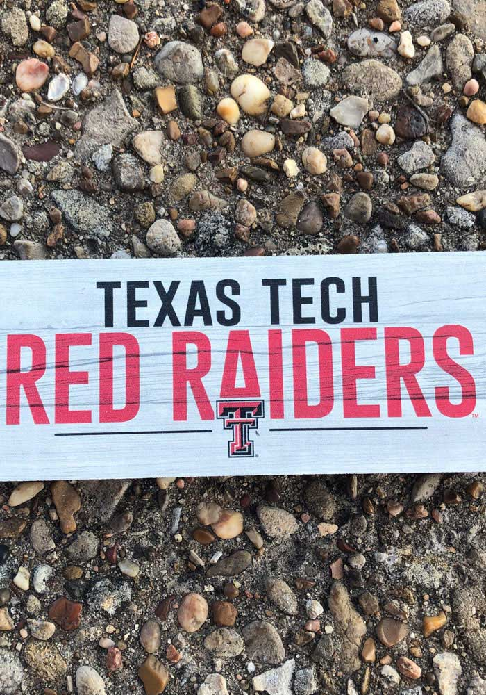 Texas Tech Red Raiders Mini Table Top Stick Sign - Image 2