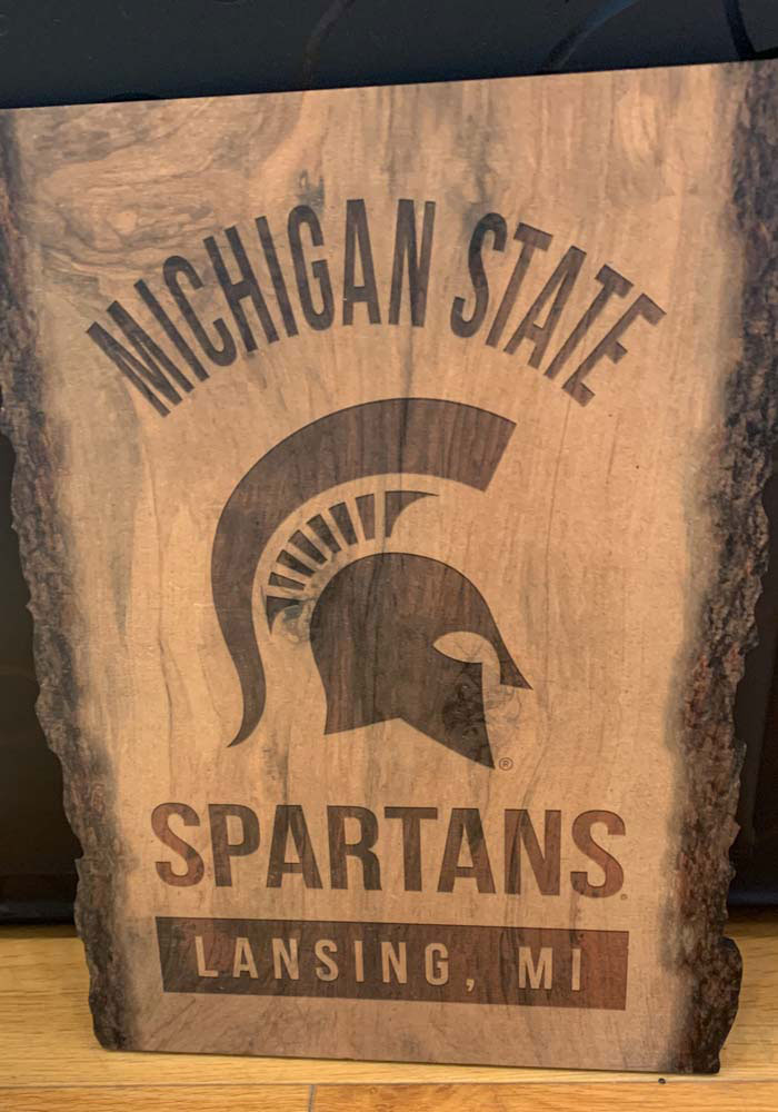 Michigan State Spartans Barky Sign (9x12) Sign - Image 2
