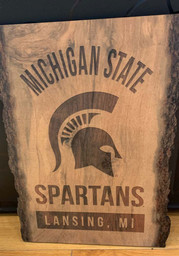 Michigan State Spartans Barky Sign (9x12) Sign