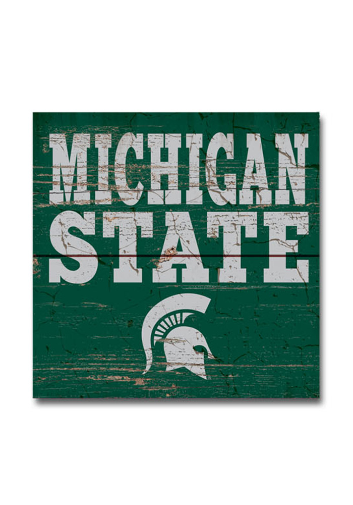 Michigan State Spartans 3x3 Magnet - Image 1