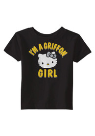 Missouri Western Griffons Infant Girls Just A Girl T-Shirt - Black