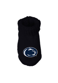 Penn State Nittany Lions Baby Knit Bootie Boxed Set - Navy Blue