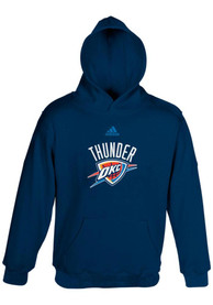 pretty nice 141da 7aa94 Oklahoma City Thunder Toddler Navy Blue Primary Logo Hooded Sweatshirt