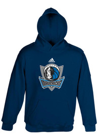 Dallas Mavericks Toddler Navy Blue Primary Logo Hooded Sweatshirt