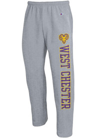 West Chester Golden Rams Champion Open Bottom Sweatpants - Grey