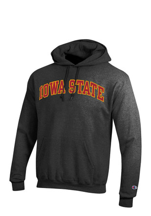 Iowa State Cyclones Mens Grey Arch Hoodie