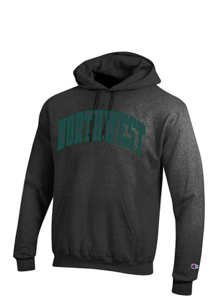 Champion Northwest Missouri State Bearcats Mens Grey Arch Hoodie