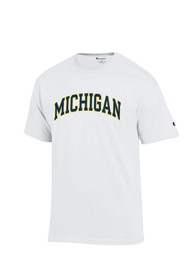 7d418503d09f2d Champion Michigan Wolverines White Arch Tee