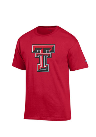 Texas Tech Mens Red Big Logo Tee
