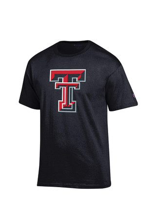 Texas Tech Mens Black Big Logo Tee