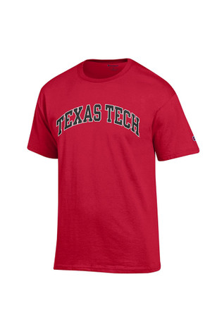 Texas Tech Mens Red Rally Loud Tee