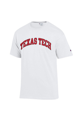 Texas Tech Mens White Rally Loud Tee