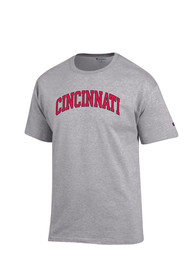 Champion Cincinnati Bearcats Grey Rally Loud Tee