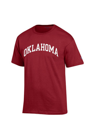 Oklahoma Mens Red Rally Loud Tee