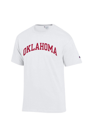 Oklahoma Mens White Rally Loud Tee