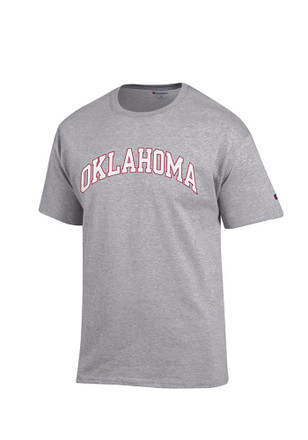 Oklahoma Mens Grey Rally Loud Tee