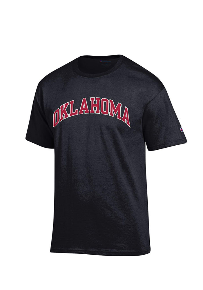 Champion Oklahoma Sooners Black Rally Loud Short Sleeve T Shirt - Image 1