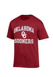 Oklahoma Mens Red Number 1 Tee