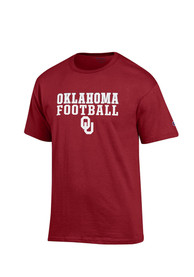Champion Oklahoma Sooners Crimson Football Tee
