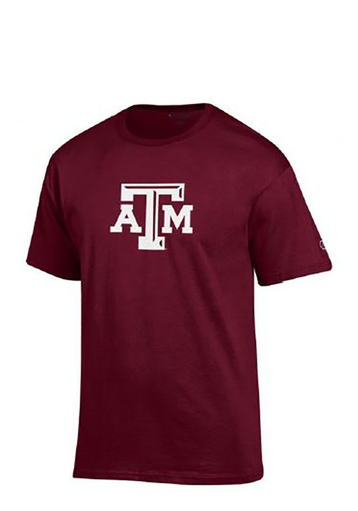 Champion Texas A&M Aggies Maroon Big Logo Tee