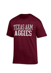 Texas A&M Mens Maroon Rally Loud Tee