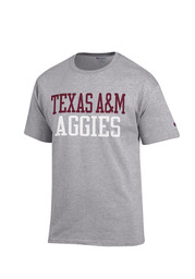 Texas A&M Mens Grey Rally Loud Tee
