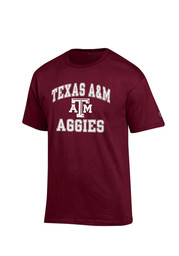 Texas A&M Mens Maroon Number 1 Tee