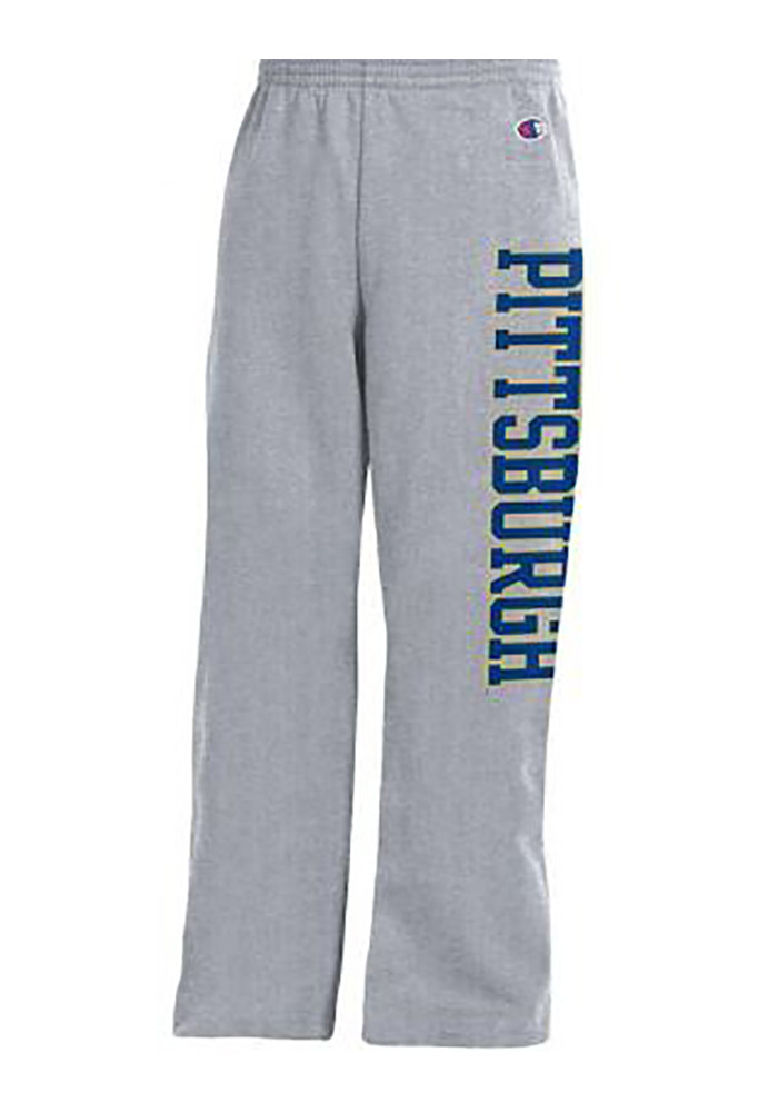 Pitt Panthers Youth Grey Powerblend Sweatpants - Image 1