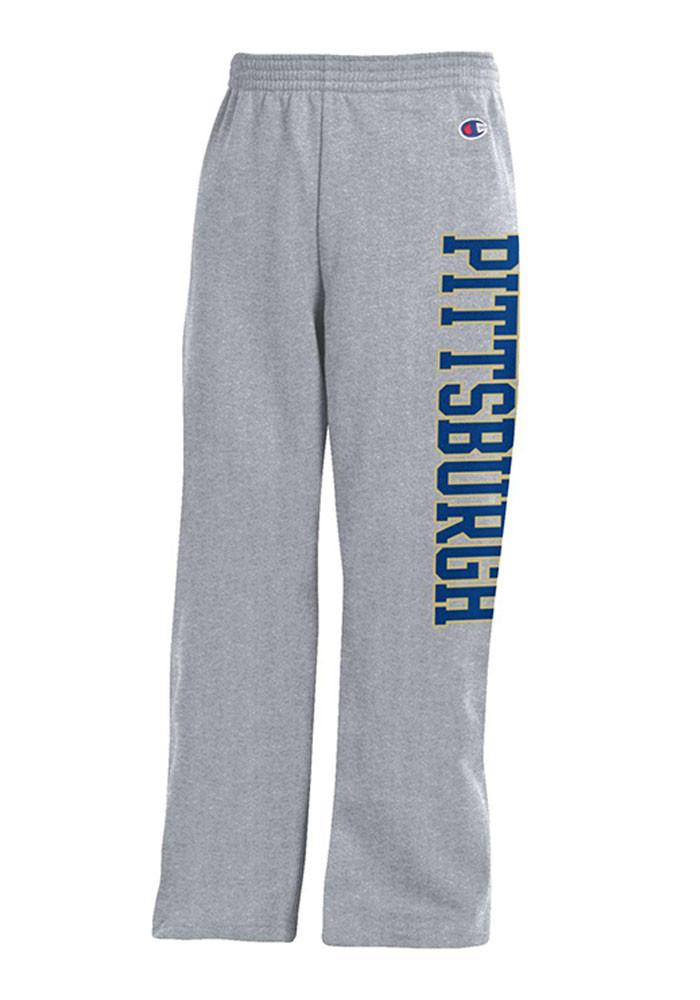 Pitt Panthers Youth Grey Powerblend Sweatpants - Image 2
