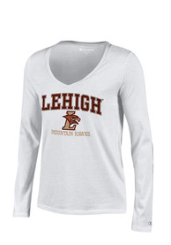 Lehigh University Juniors White Campus T-Shirt